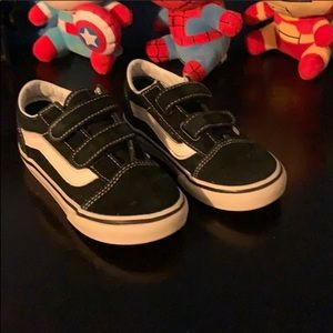 VANS Old Skool kids Velcro shoes
